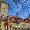 Lenzrosen & Oster Markt auf Schloss Thurnau