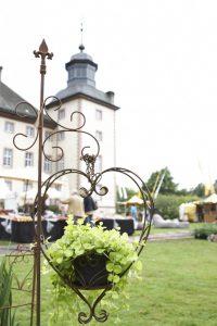 Gartenveranstaltung am Schloss Corvey