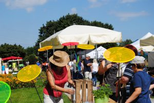 Gartenveranstaltung im Sommer: Bunt und fröhlich!
