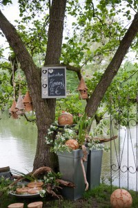 Gartendeko beim Herbstfestival Herrenhausen