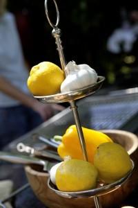 Frisches vom Zitronenbaum
