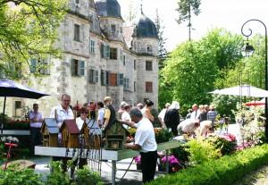 Das fränkische Gartenfest