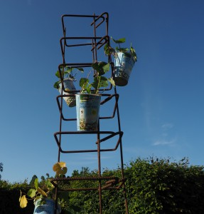 Kunst beim Gartenfestival