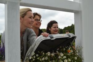 Die Ladys vom Gartenfestival
