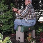 Gartenhelfer: Rollbarer Gartenhocker