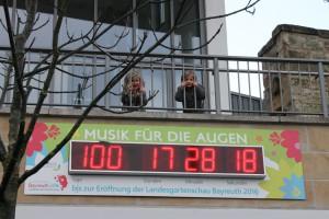 Der Countdown zur Landesgartenschau Bayreuth 2016 läuft!