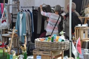 Shoppen auf der Frühlingsveranstaltung in Lauenbrück