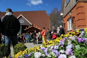 Frühjahrsveranstaltungen wie der Holsteiner Frühlingsmarkt machen Lust auf Garten!