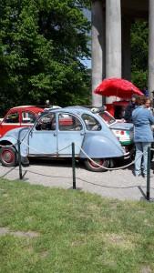 Manchmal sind Gartenfestivals sind auch was für Autofans