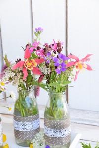 Ideen mit Blumen und Vasen