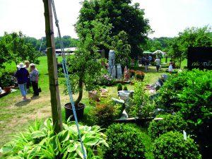 Gartenveranstaltung beim Wasserschloss Inzlingen