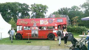Food-Truck beim British Flair