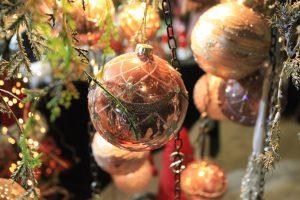 Beim Adventszauber Corvey funkeln schon die Christbaumkugeln