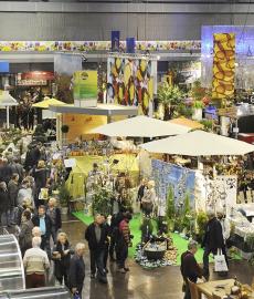 Freizeit Messe Nürnberg - Garten 2014