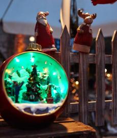 Romantischer Weihnachtsmarkt Gut Wolfgangshof 4. Advent