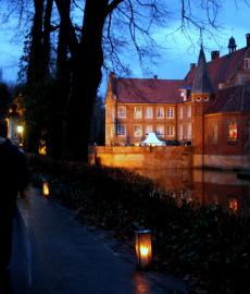 Winterträume Burg Hülshoff