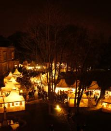 Winterträume Schloss Faber Castell