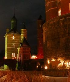 Romantischer Weihnachtsmarkt Schloss Merode