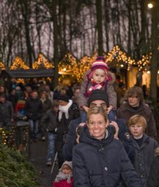 Waldweihnachtsmarkt in Velen 1. Advent