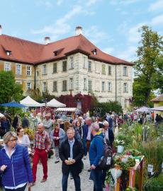 Faszination Garten auf Schloss Weingartsgreuth