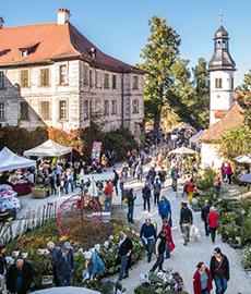 Faszination Garten Schloss Weingartsgreuth