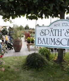 Grüner Markt zum Jubiläum \'300 Jahre Baumschulen Späth\'