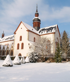 Romantischer Weihnachtsmarkt Kloster Eberbach 2. Advent