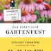 Das Fürstliche Gartenfest Schloss Fasanerie zusammen mit FEINWERK - Markt für echte Dinge 4