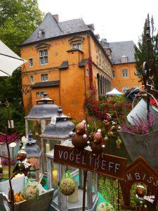 Gartenveranstaltung auf Schloss Rheydt