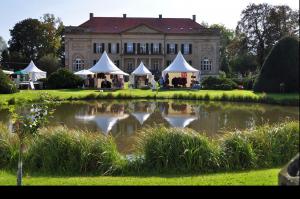 Gartenveranstaltung auf Schloss Harkotten
