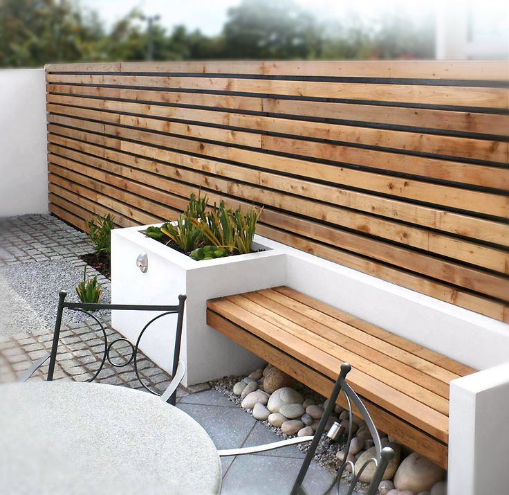 17 Best Seating Wall Ideas Images On Pinterest: Für Mehr Privatsphäre