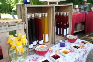 Leckeres beim Gartenfest Dalheim
