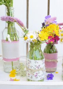 Zauberhafte Ideen mit Blumen und Vasen