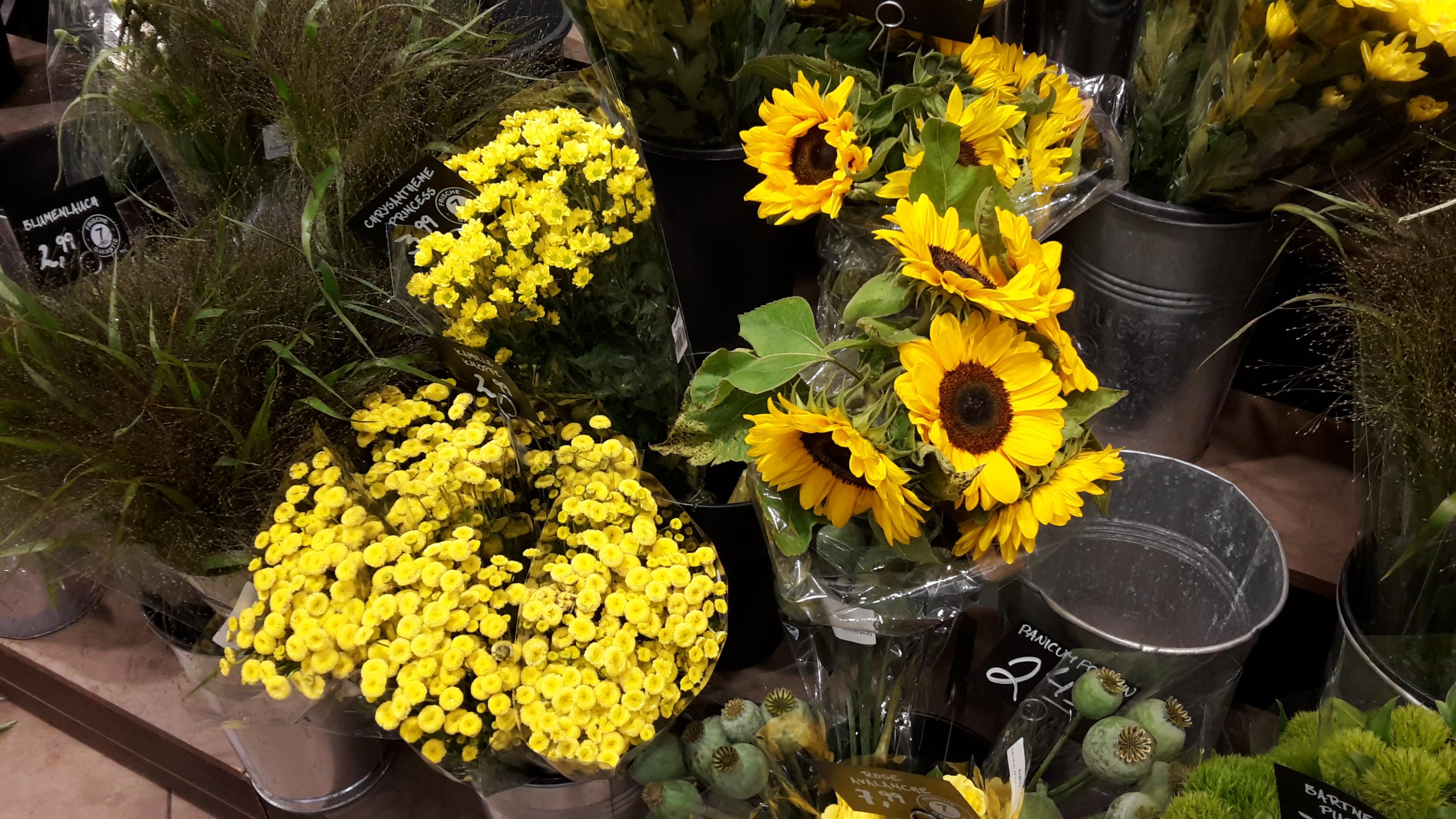 Sonnenblumen Tischdeko Die Passt Immer