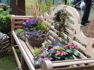 Gartenveranstaltung auf Schloss Weingartsgreuth