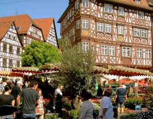 Gartenveranstaltung in Mosbach